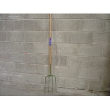 Long Handle Fork Four Prong