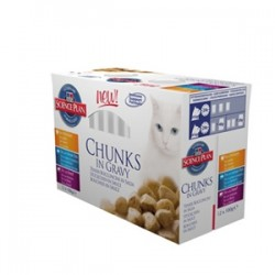 Hills Tender Chunks Adult Variety - 12 x 100g