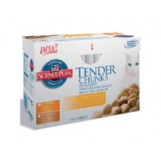 Hills Tender Chunks Adult Poultry - 12 x 85g