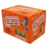 Suet to Go Mealworm & Insect Blocksx6