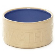 Pet Bowl Ceramic Water Blue – 8""