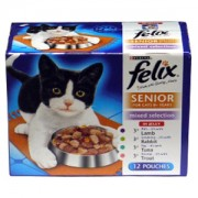 Felix Pouch Senior Selection 12x100g