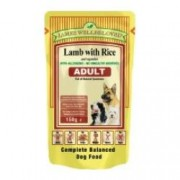 James Wellbeloved Adult Dog in Lamb Pouches - (10x150g)