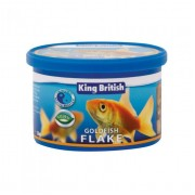 King British Goldfish Flake (available in 3 sizes)