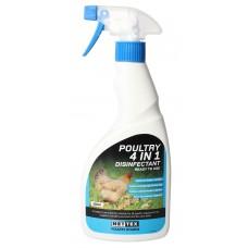 Net-Tex Poultry Sanitiser and Egg Wash 500ml