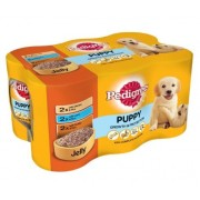 Pedigree Puppy Tins - 400g x 6