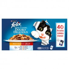 Felix Pouch As Good As It Looks Doubly Delicious 40x100g