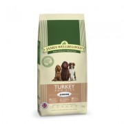 James Wellbeloved Junior Turkey & Rice (Available in Two Sizes)