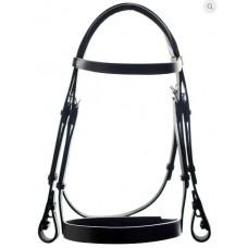 Ascot Comfort Plain Bridle (Black)