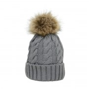 HYfashion Knit Bobble Hat (Various Colurs Available)