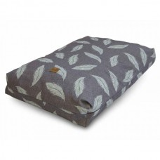 Eco Wellness Bed Grey & Duck Egg Blue (Two sizes Available)