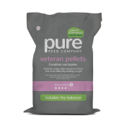 Pure Feed Company Veteran Pellets 15kg