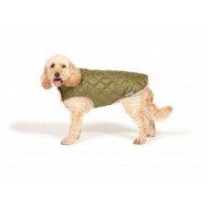 Danish Design Quilted Dog Coat (Available in Navy & Green)