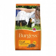 Burgess Excel Guinea Pig Nuggets with Mint 2kg (Varieties Available)