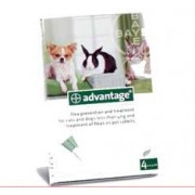 Advantage 40 Spot On Solution for Small Cats, Dogs and Pet Rabbits*