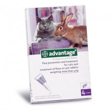 Advantage 80 Spot On Solution for Large Cats and Pet Rabbits*