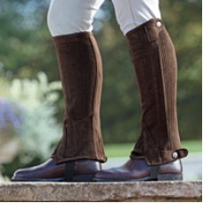 Shires Amara Adult Half Chaps - Brown