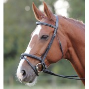 Shires Avignon Comfort Bridle - Black