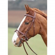 Shires Avignon Comfort Bridle - Oak