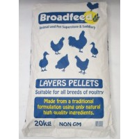 Broadfeed Layers Pellets (Available in Two Sizes)