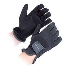 Shires Bicton Competition Gloves - Black