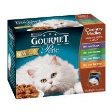 Gourmet Pearl Pouch Country Medley 12x85g