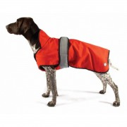 "Danish Design 2 in 1 Dog Coat (Available in Sizes 10""-26"") orange"