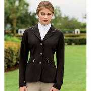 Horseware Ladies Embellished Competition Jacket Black