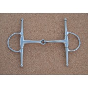 Full Cheek Jointed Snaffle (available in 2 sizes)