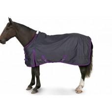 Gallop Trojan Lightweight Turnout - Navy/Purple
