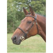 Shires Blenheim In Hand Bridle - Brown Full