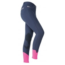 Shires Childs Maids Performance Bloomsbury Breeches Navy