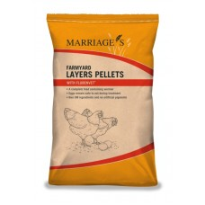 Marriages Layers Pellets with Flubenvet (available in 2 sizes)