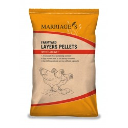 Marriages Layers Pellets with Flubenvet