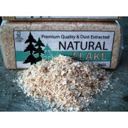 Natural Flake Wood Shavings Bale