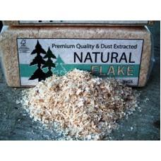 Natural Flake Wood Shavings Bale
