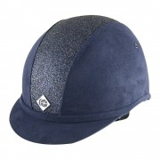 Charles Owen Yr8 Navy with Navy Sparkle Hat - Available in standard & round fit)