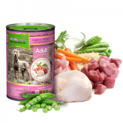 Natures Menu Tins Lamb & Chicken 400g