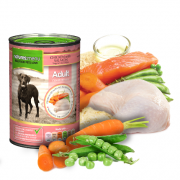 Natures Menu Tins Chicken & Salmon 400g