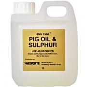 Gold Label Pig Oil & Sulphur - 5L