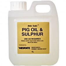 Gold Label Pig Oil & Sulphur - 5L