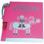 I Love Ponies Notebook + Pen