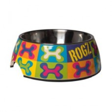 Rogz 2in1 Bubble Bowl Popart (available in 2 sizes)