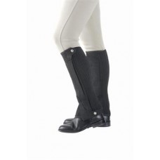 Shires Amara Adult Half Chaps - Black