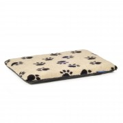 Paw Print Flat Pad Cream (Three Sizes Available)