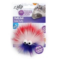 All For Paws Furry Ball Fluffer - Red
