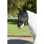 Guardsman Fly Mask with Ears in Black