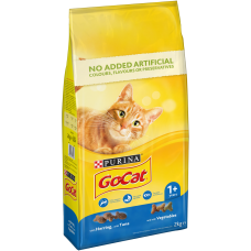 Go Cat with Chicken, Turkey and Vegetables 1+ years - 2kg